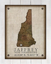 Load image into Gallery viewer, Jaffery New Hampshire Vintage Design - On 100% Natural Linen