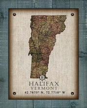 Load image into Gallery viewer, Halifax Vermont Vintage Design - On 100% Natural Linen