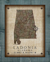 Load image into Gallery viewer, Ladonia Alabama Vintage Design - On 100% Natural Linen