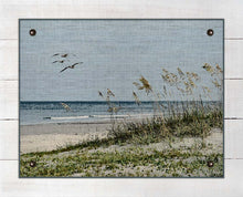 Load image into Gallery viewer, Sea Oats And Dunes - On 100% Linen