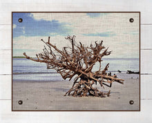 Load image into Gallery viewer, Driftwood 1 - On 100% Natural Linen