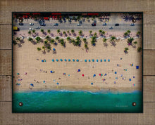 Load image into Gallery viewer, Beach Aerial View On 100% Linen