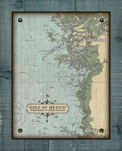 Load image into Gallery viewer, Weeki Wachee to Homosassa Nautical Chart On 100% Natural Linen