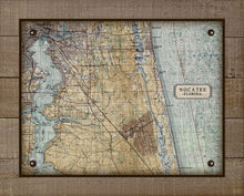 Load image into Gallery viewer, First Coast Nocatee Map On 100% Linen