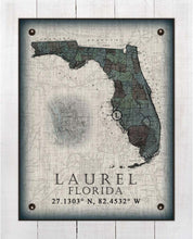 Load image into Gallery viewer, Laurel Florida Vintage Design On 100% Natural Linen
