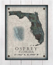 Load image into Gallery viewer, Osprey Florida Vintage Design On 100% Natural Linen