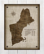 Load image into Gallery viewer, New England Vintage Design - On 100% Natural Linen