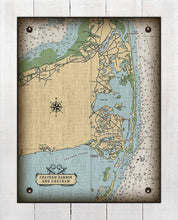 Load image into Gallery viewer, Chatham Cape Cod  Nautical Chart On 100% Natural Linen