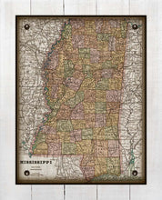 Load image into Gallery viewer, 1800s Mississippi - On 100% Natural Linen