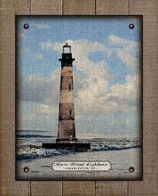 Load image into Gallery viewer, Charleston South Carolina Lighthouse - On 100% Linen