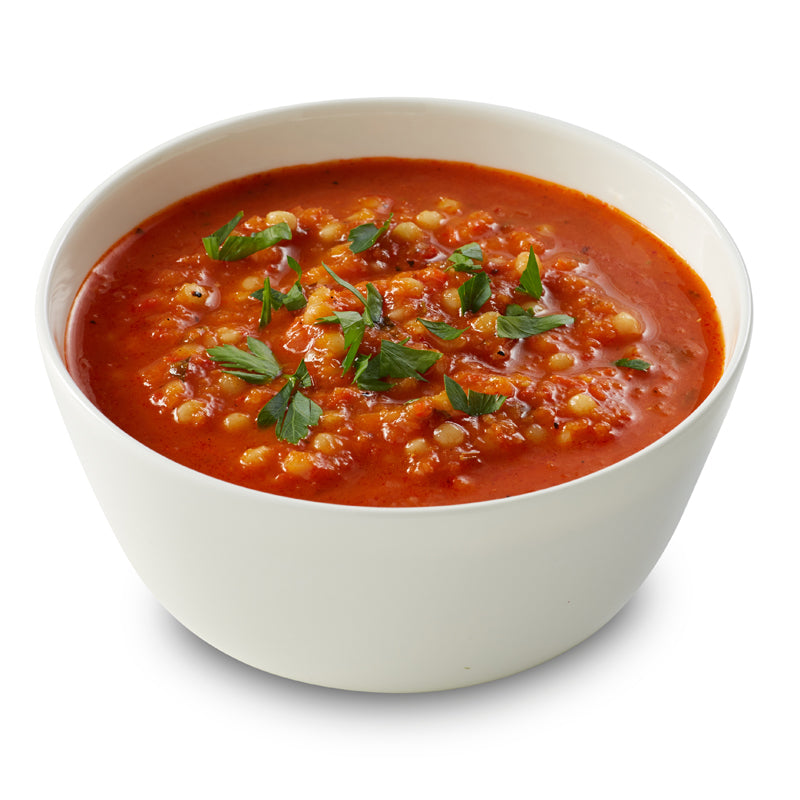 Fire Roasted Red Pepper & Cous Cous Soup 1.5kg