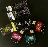 "Virtual Chocolate Tasting KIT ""Dark & Darkness"" - Free Shipping"