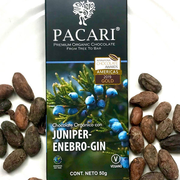 Organic Chocolate Bar - Juniper