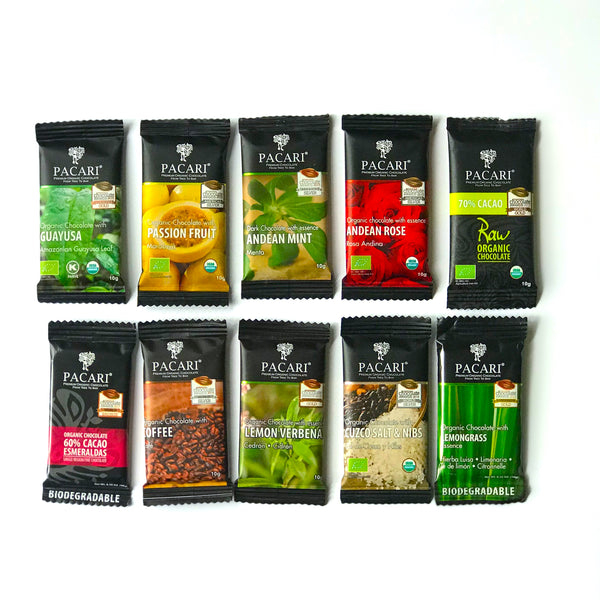 Mini-Bars Assorted Flavors (10 gr.)