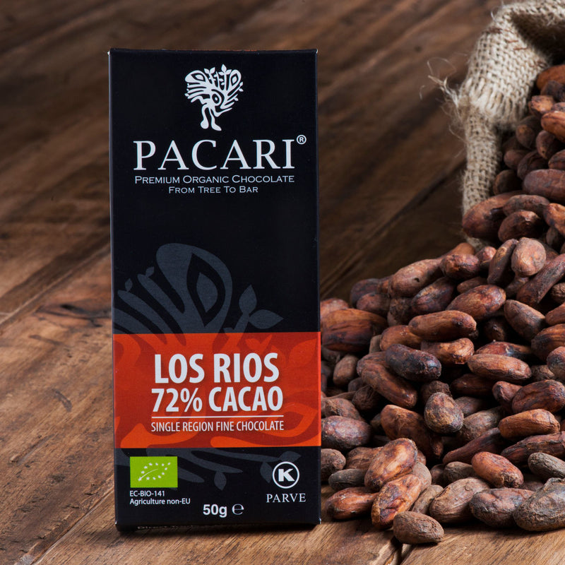 Los Rios Organic Chocolate Bar 50 gr.