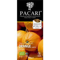Orange Organic Chocolate Bar 50 gr.
