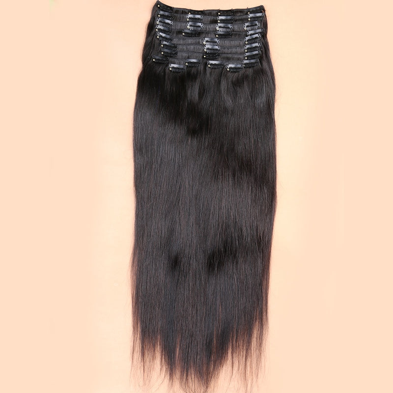 Straight Clips In Hair Extensions