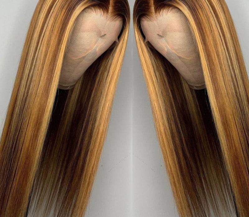 Straight Highlight Wigs
