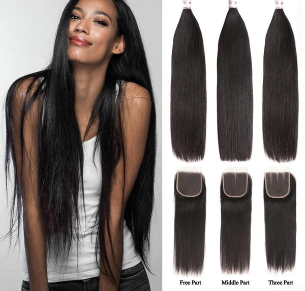 Straight Hair Bundles
