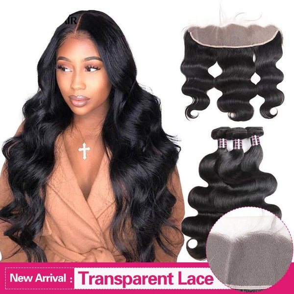Transparent Lace Hair