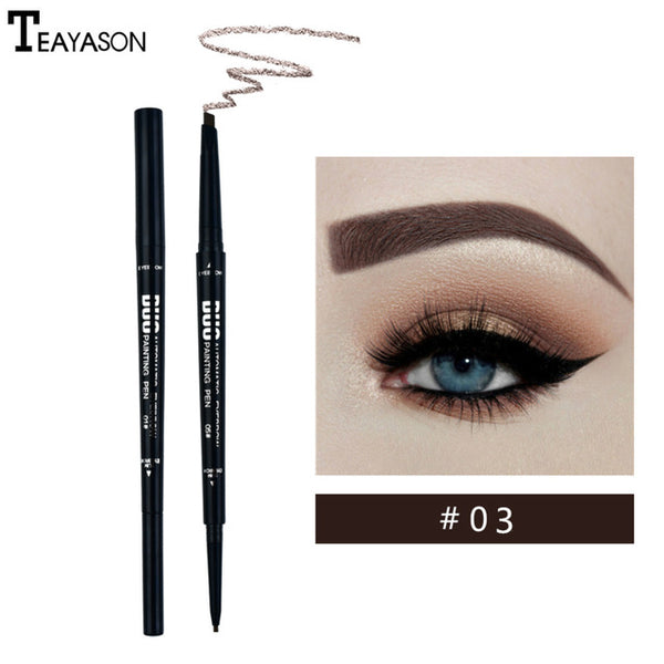 Natural Double-headed  Eyebrow Pencil