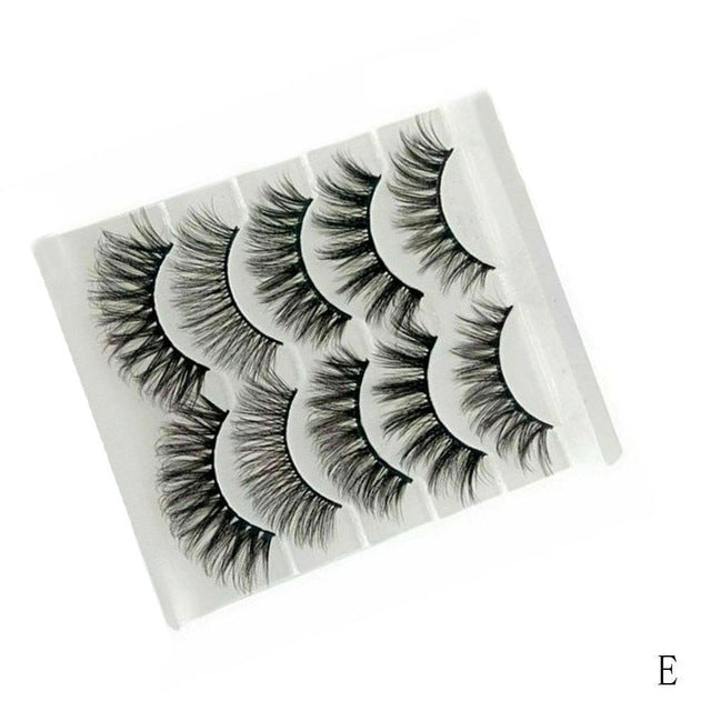 Natural Crisscross Eyelashes