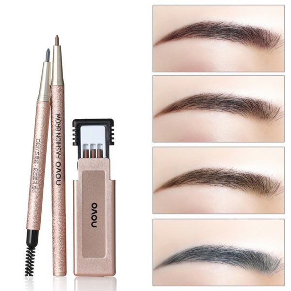 Gray Waterproof Eyebrow Pencils