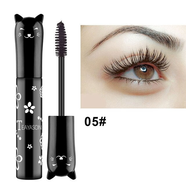 Color Mascara 4D Silk Fiber Lash