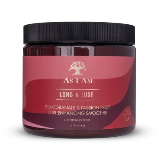 As I Am Long Luxe Pomegranate & Passion Fruit Curl Enhancing Smoothie 454g - My Hair World