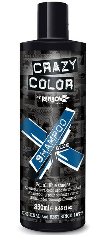 Crazy Color Vibrant Blue Shampoo 250ml - My Hair World