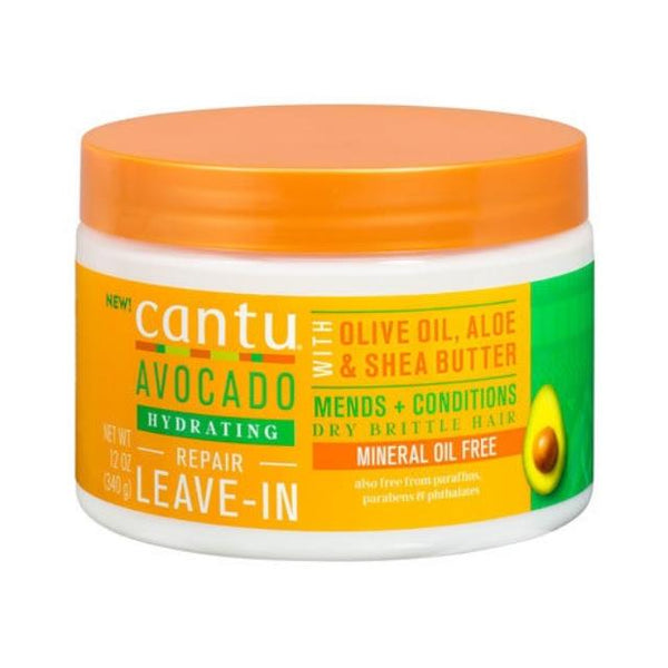 Cantu Avocado Hydrating Repair Leave-In Conditioning Repair Cream 340g - My Hair World