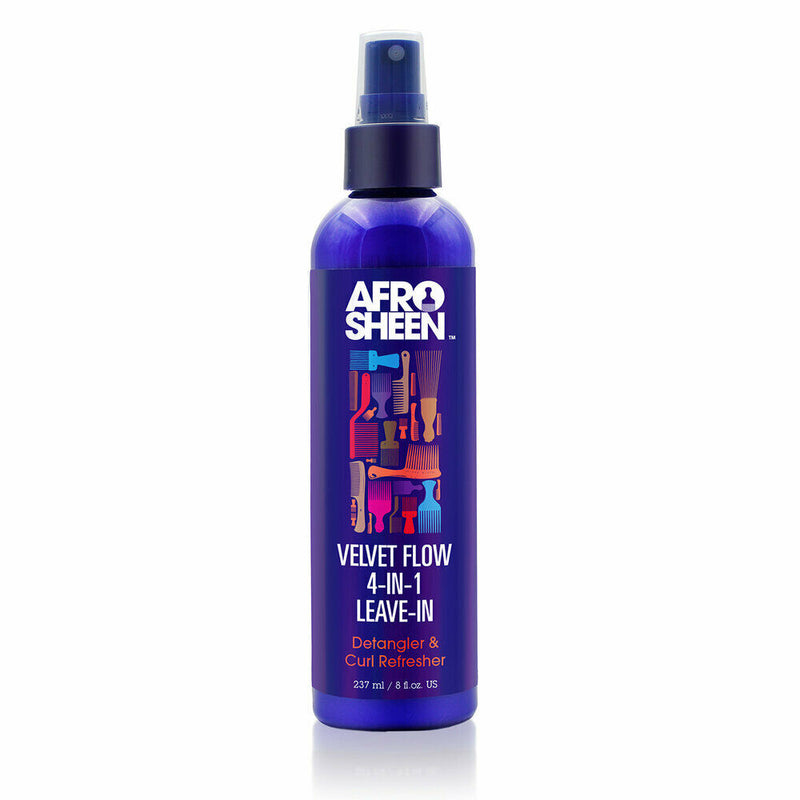 Afro Sheen Velvet Flow 4-In-1 leave-In Spray 237ml - My Hair World
