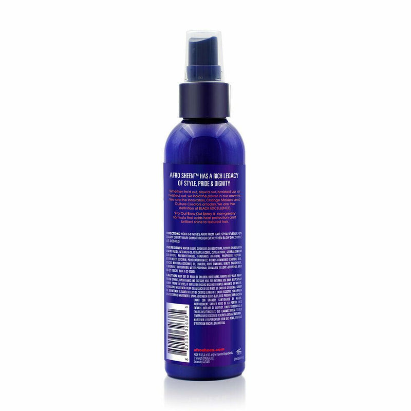 Afro Sheen Fro Out Blow-Out Spray 177ml - My Hair World
