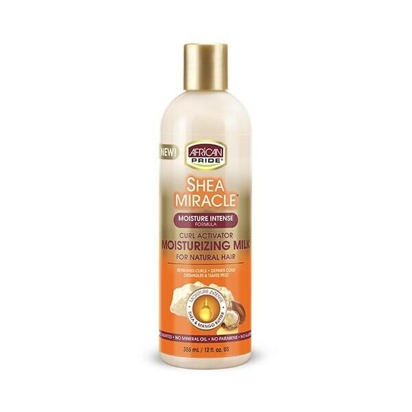 African Pride Shea Miracle Silky Curl Activator Hair Moisturizer 355ml - My Hair World