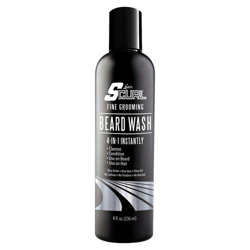 Luster`s  S-Curl Beard Wash 236ml - My Hair World