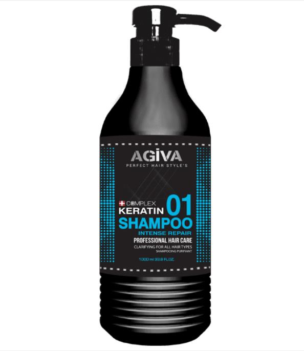 Agiva Hair Shampoo Keratin Complex 01 500ml - My Hair World