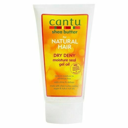 Cantu Shea Butter Natural Hair Dry Deny Moisture Seal Gel Oil 142g - My Hair World