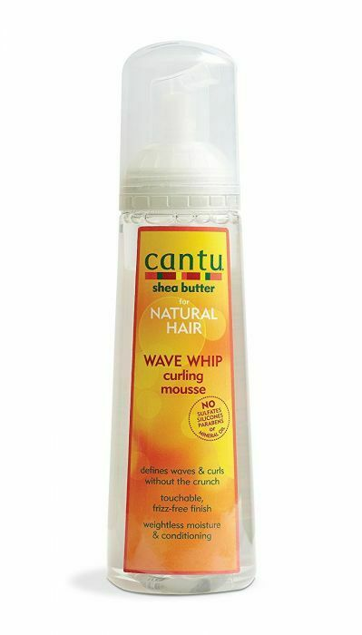 Cantu Shea Butter Natural Hair Wave Whip Curling Mousse 248ml - My Hair World