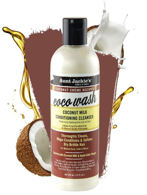 Aunt Jackie's Coconut Creme Coco Wash 355ml - My Hair World