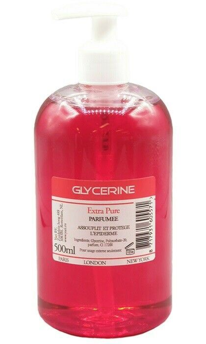 Glycerine Extra Pure Red 500 ml - My Hair World