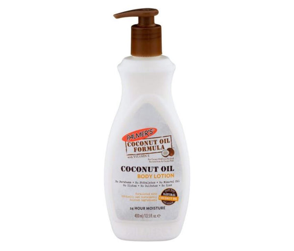 Palmer's Coconut Oil Formula Body Lotion with Pump 400ml - My Hair World