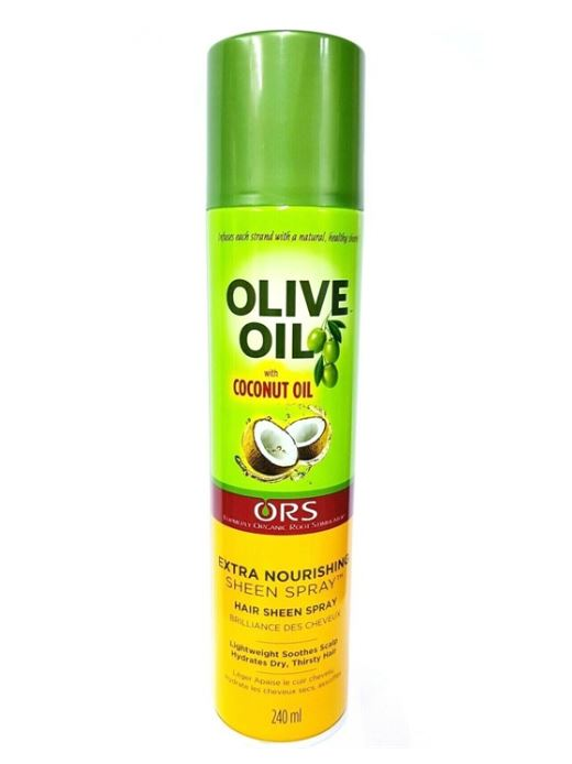 ORS Olive Oil Sheen Spray Extra Nourishing 240ml - My Hair World
