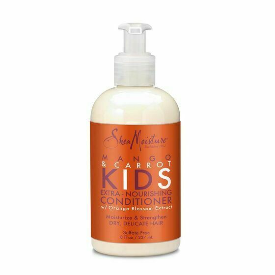 Shea Moisture Kids Mango & Carrot Extra-Nourishing Conditioner 237ml - My Hair World