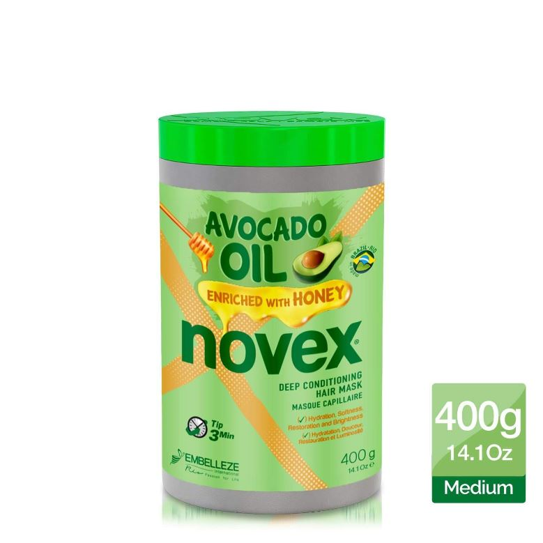Novex Avocado Oil Deep Conditioning Hair Mask 400g - My Hair World