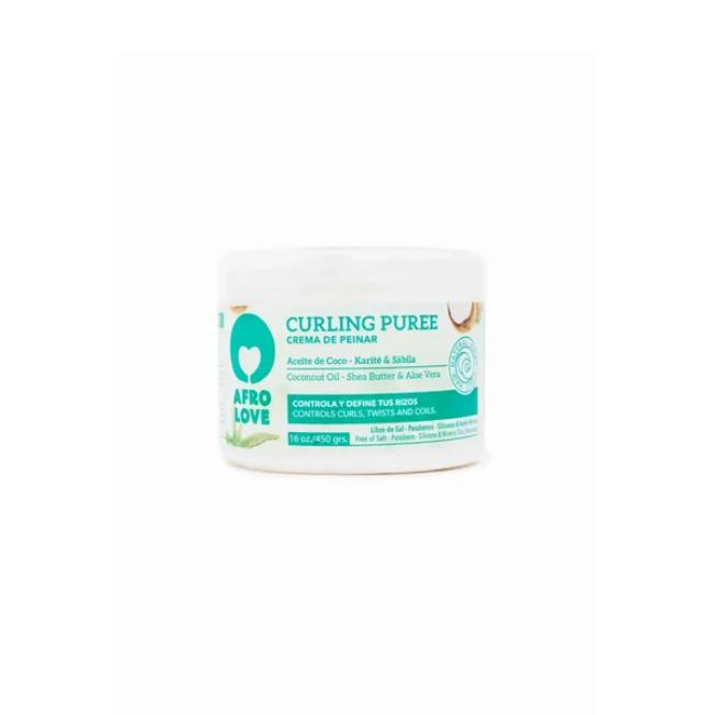 Afro Love Curling Puree 450g - My Hair World
