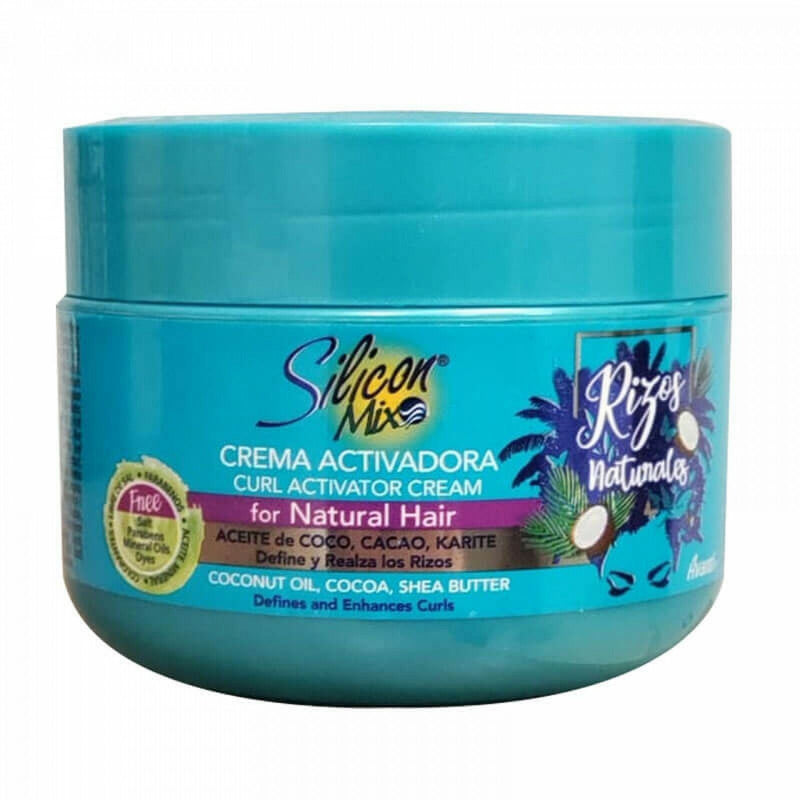 Silicon Mix Rizos Naturales Curl Activator Cream 225g - My Hair World