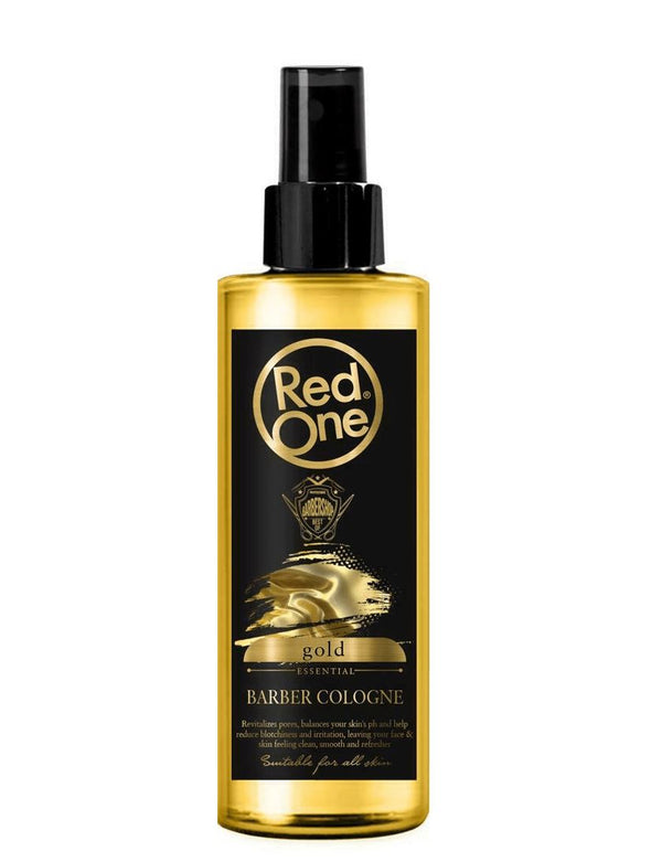 RedOne After Shave Barber Cologne Gold 400ml - My Hair World