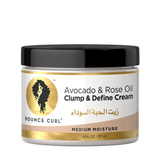 Bounce Curl Avocado & Rose Oil Clump Define Cream 117ml - My Hair World