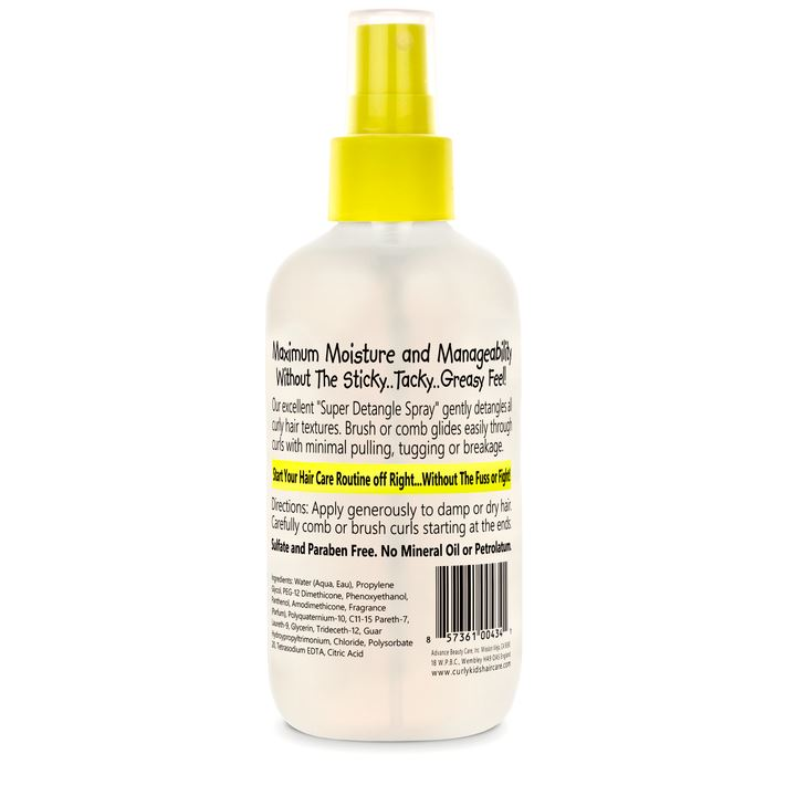 Curly Kids Super Detangle Spray 180ml - My Hair World