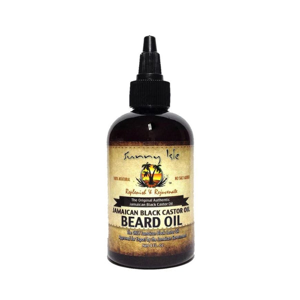 Sunny Isle Jamaican Black Castor Beard Oil 118ml - My Hair World
